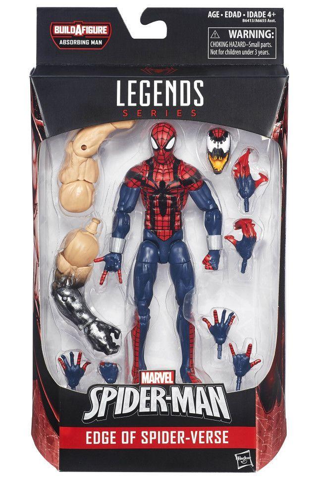 Marvel Legends - Spider-Man Absorbing Man BAF - Edge of Spider-Verse - Ben Riley Spider-Man