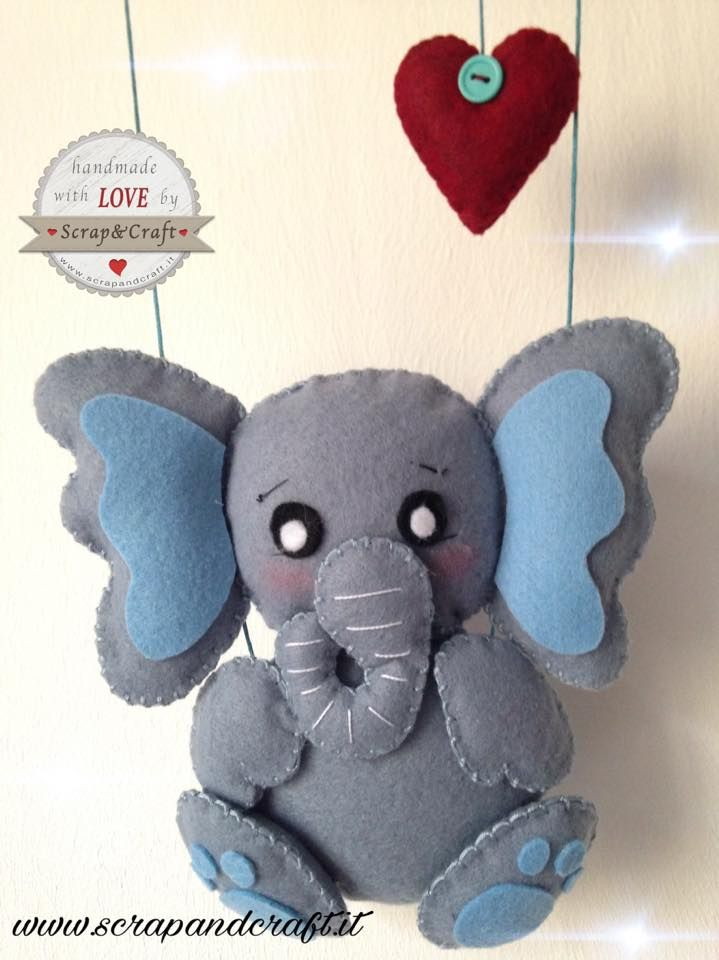 Risultati immagini per fiocco nascita elefantino