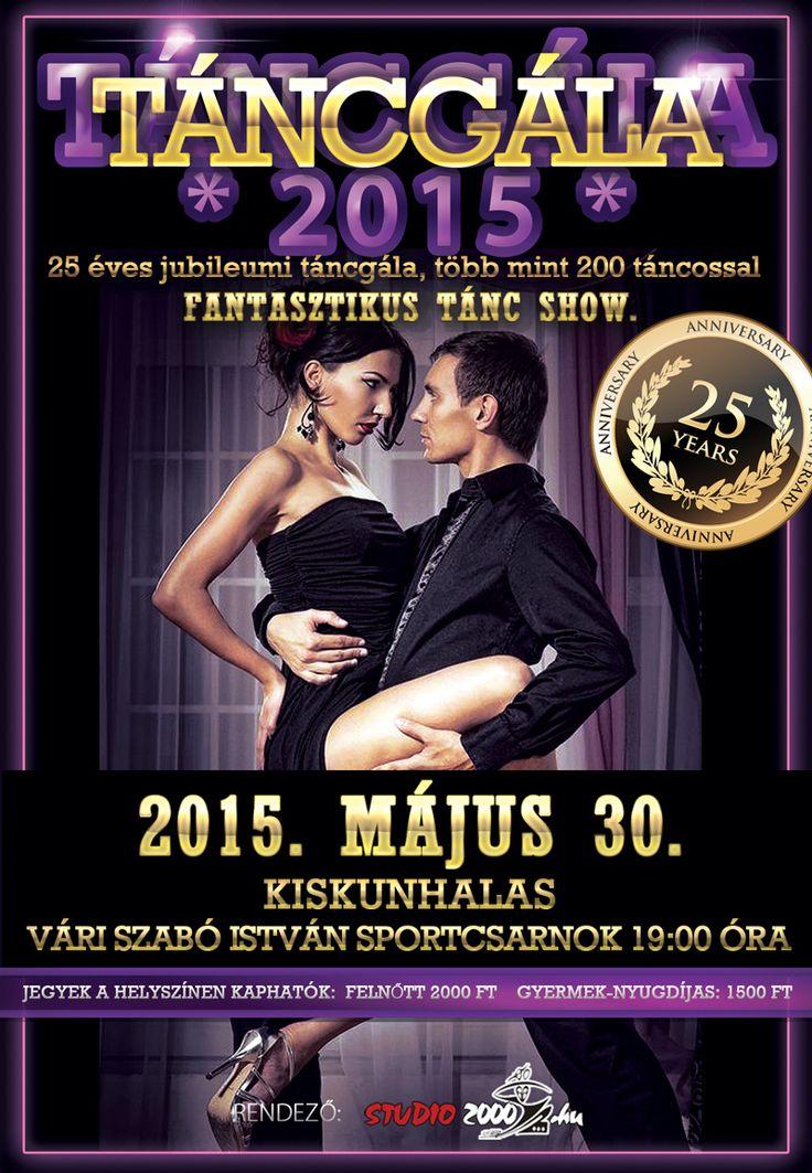 Táncgála 2015. Flyer