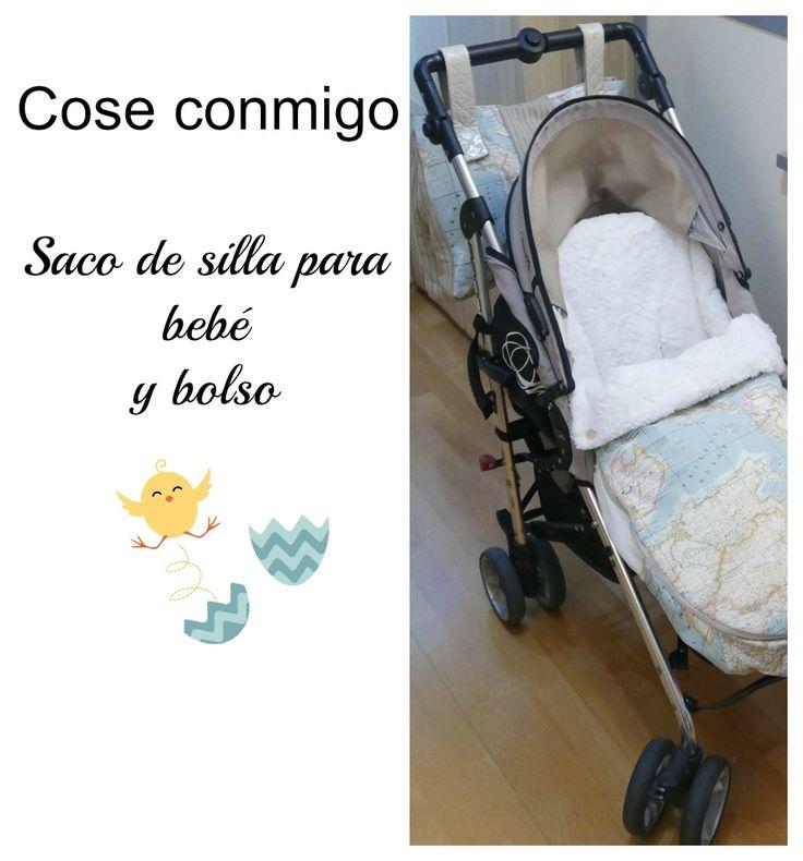 Patrón PDF saco universal silla bebé
