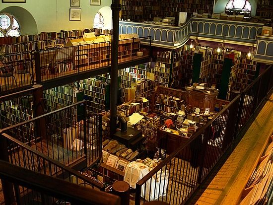 Leakey's Second Hand Bookshop, Inverness - Scotland's largest second-hand bookstore