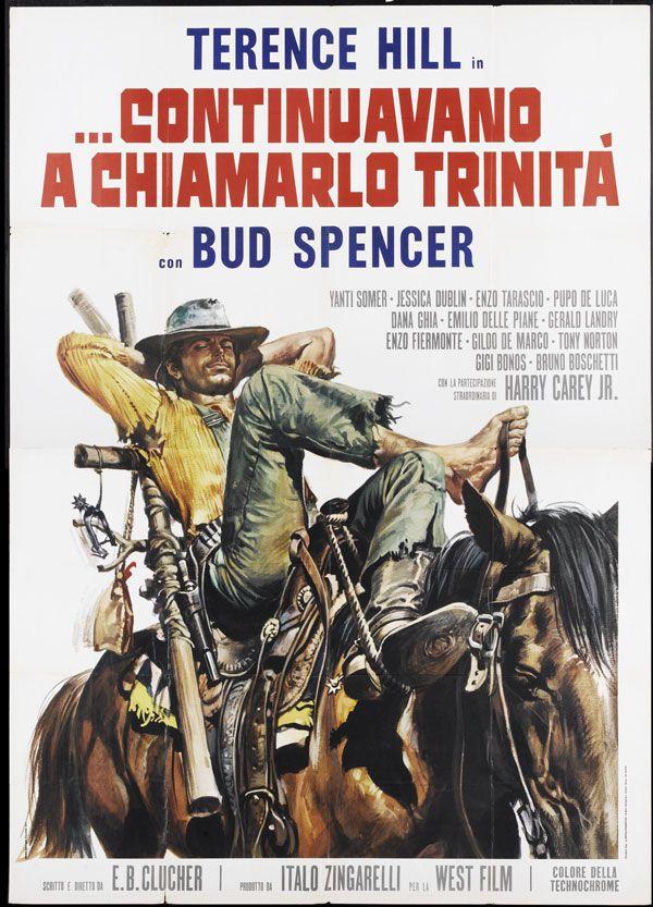 Cartaz vintage de filme de bangue-bangue à italiana
