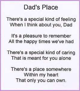 Image result for poems about loving my dad
