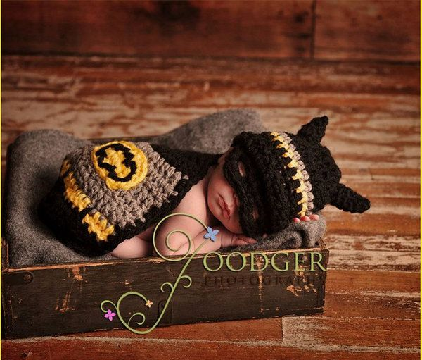 Crochet Baby Batman