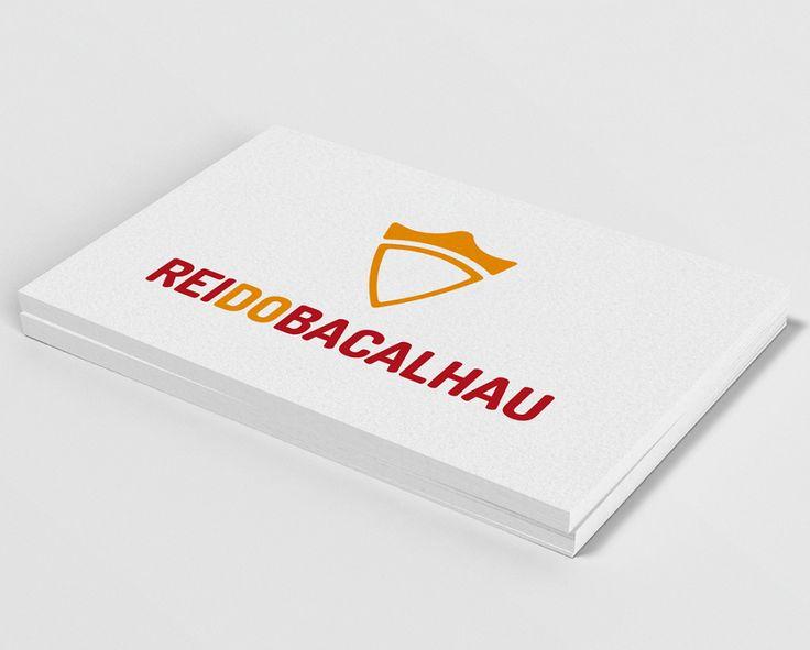 Logótipo para a empresa Rei do Bacalhau.