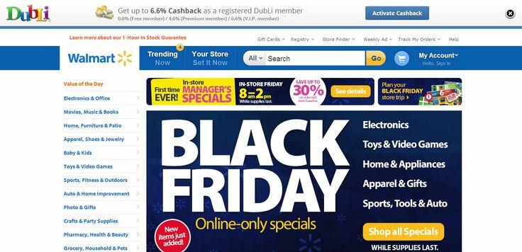 Walmart Deals With Cashback