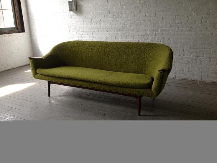 Mid Century Modern Sofa Couch · WohnzimmerMitte Des Jahrhunderts ...