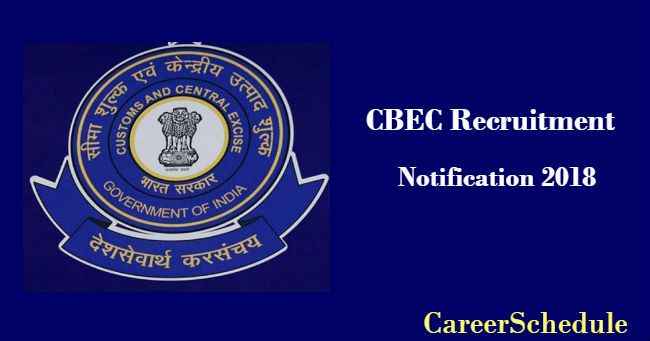 Spread the CBEC Recruitment 2018-19 | 21 Seaman, Tradesman ... on application for rental, application to date my son, application to join motorcycle club, application for scholarship sample, application to be my boyfriend, application database diagram, application for employment, application insights, application to rent california, application approved, application meaning in science, application clip art, application service provider, application error, application template, application submitted, application to join a club, application trial, application cartoon, application in spanish,
