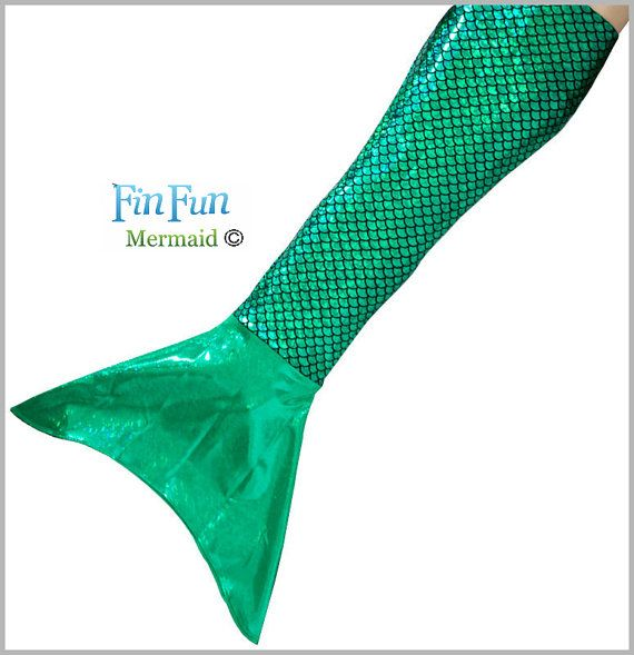 Mermaid Tails for Swimming in Ariel Green. Realistic and Beautiful by Fin Fun Mermaid Tails, Costume, High Quality, Safe Design, Realistic // http://www.etsy.com/fr/listing/183463240/mermaid-tails-for-swimming-in-ariel?ref=shop_home_active_6