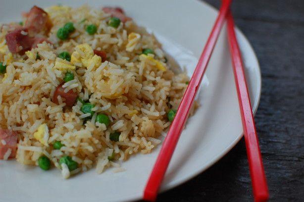 Chinese Restaurant Fried Rice Recipe - Chinese.Food.com