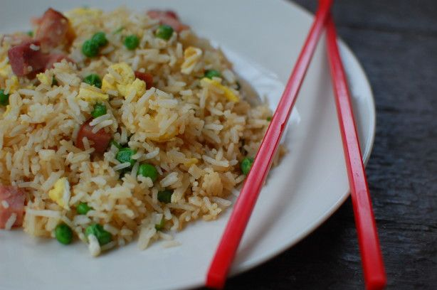 Chinese fried rice that tastes just like in the Chinese restaurants. I have tried many recipes and was never able to make it taste like in the restaurants until I met someone who was a chef in a Chinese restaurant and let me in on the secrets.