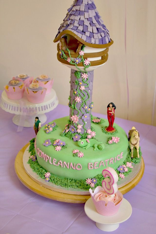 The 25 best ideas about rapunzel cake on pinterest for 3d decoration for birthday