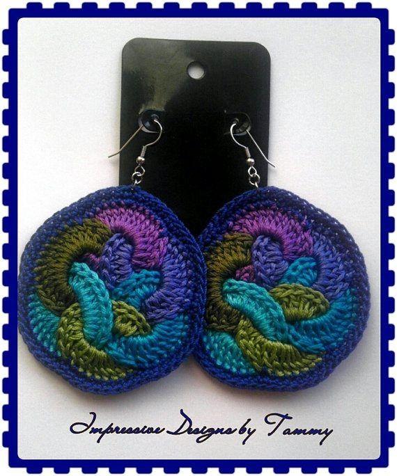 pendientes de crochet ♥