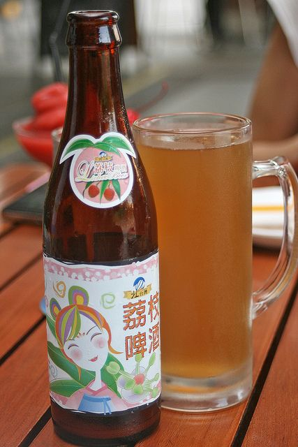 Taiwanese Lychee Beer