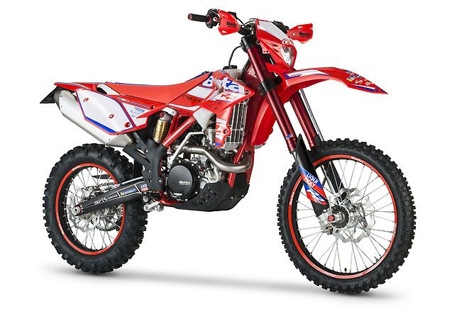Beta offers Race Edition versions of its two-stroke and four-stroke off-road models.