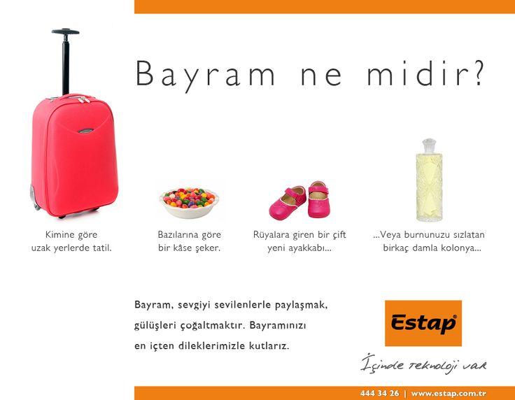 Bayram ne midir?  www.estap.com.tr  Estap. Türkiye'nin en beğenilen rack kabinet üreticisi.