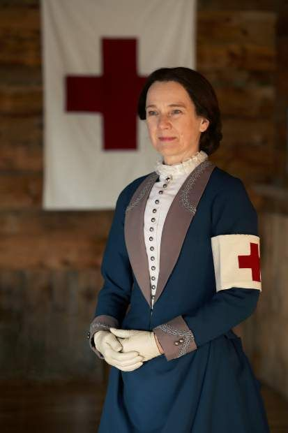 """Clara Barton, the founder of the American Red Cross, shares her """"first-"""