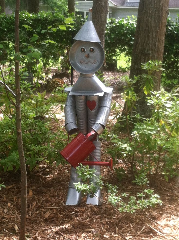 66 best tin can people images on pinterest tin can man for Tin can tin man craft