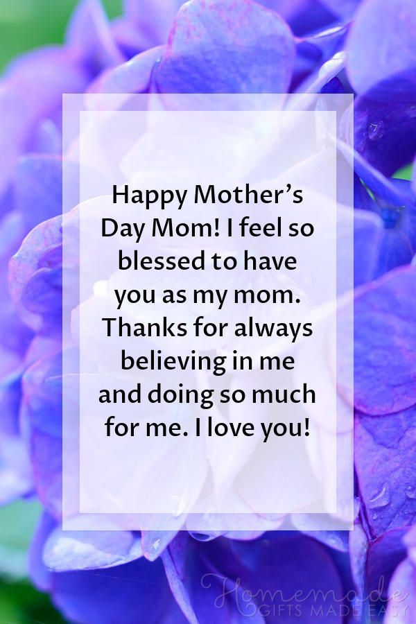 106 Mother S Day Sayings For Wishing Your Mom A Happy Mother S Day 2021 Happy Mothers Day Wishes Happy Mothers Day Images Happy Mothers Day Messages