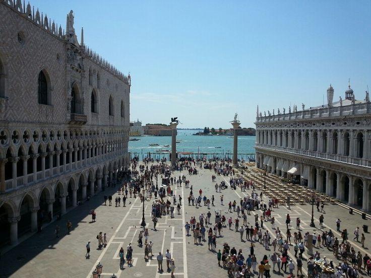 Plaza San Marcos, Venecia.