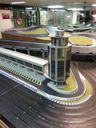 Resultado de imagen para wood routed slot car track photos