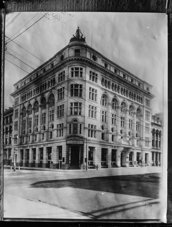 AMP Building, Cnr St George's Tce and William St, Perth, c1905