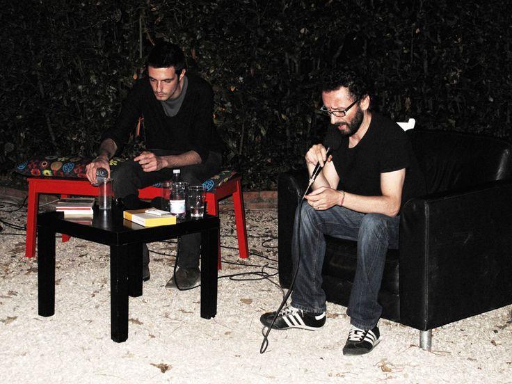 #flep2013 Aranciera//Teoria e tecnica dell'agitazione culturale  incontro con Marco Philopat, intervengono Luca Moretti e Cristiano Armati.