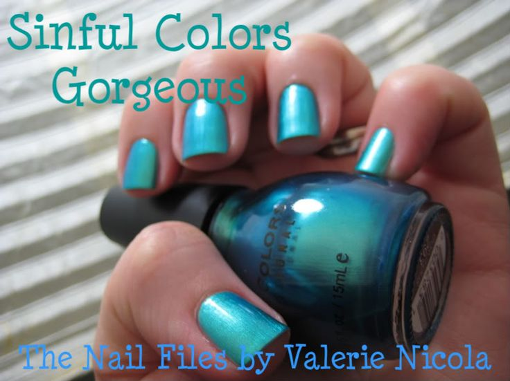 """gorgeous"" by Sinful Colors nail polish"