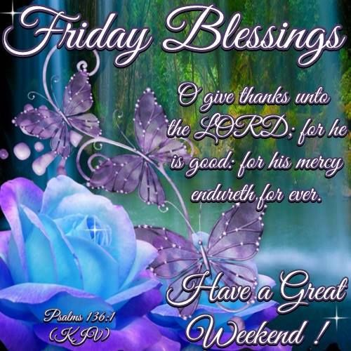 Good Morning Everybody My Name Is Trudy : Good morning have a blessed weekend in jesus everyone