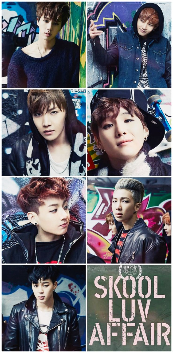 BTS's J-Hope, Jungkook, Jin, Suga, Rap Monster, Jimin, V