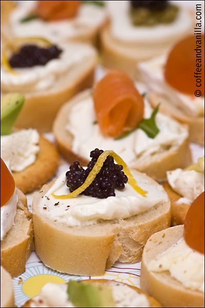 Mini Party Sandwiches » Coffee and Vanilla