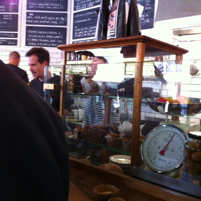 @cornersmith in marrickville. great food and service!