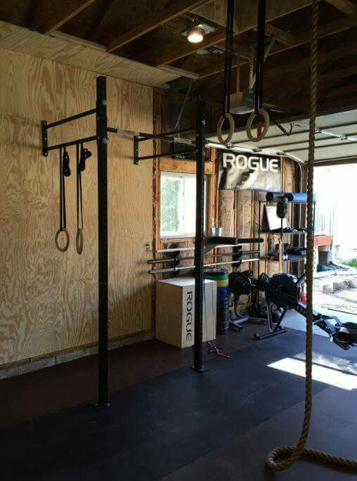 Courtesy greg skiver s rogue out garage gym home
