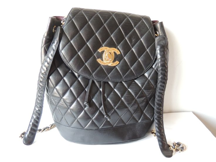 I belong to the Chanel family, I'm of the 80's:  you can see me at giovintage.com (special bags)