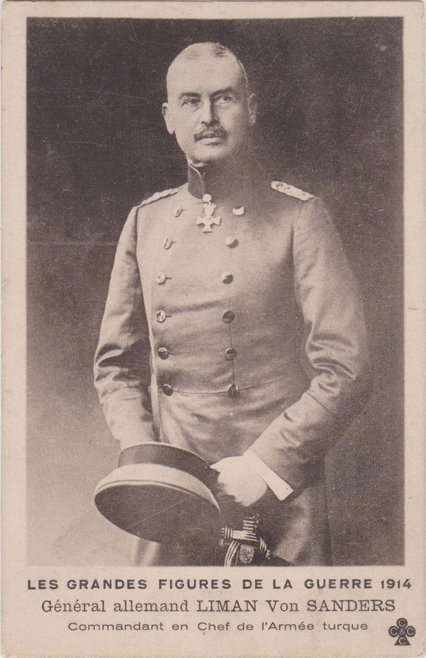 Turkey / War Dardanelles General Allemand  LIMAN von SANDERS ,Chef Armee Turque