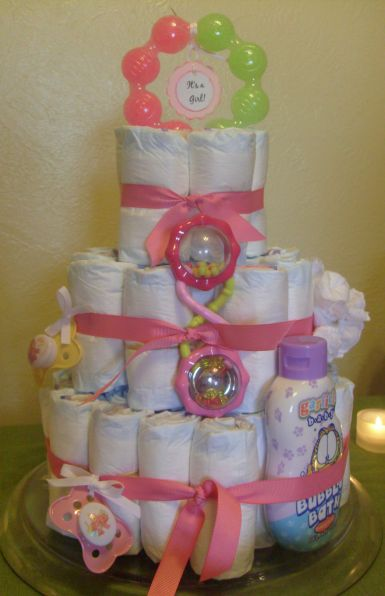 baby shower diaper cakes baby shower
