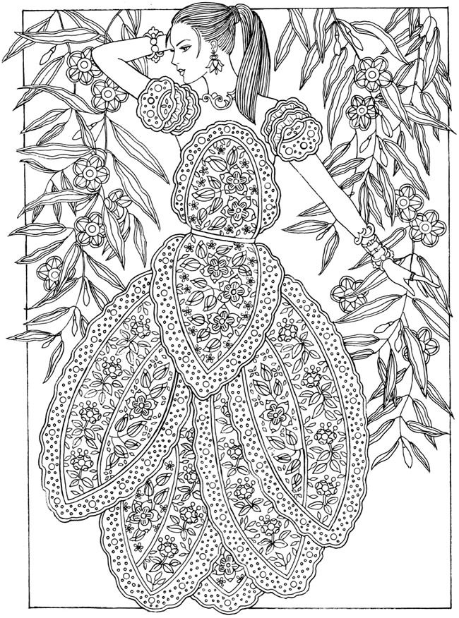 The 25+ best Dover coloring pages ideas on Pinterest ...