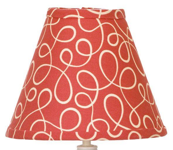 "9"" Peggy Sue Cotton Empire Lamp Shade"