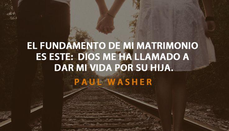 Paul Washer matrimonio