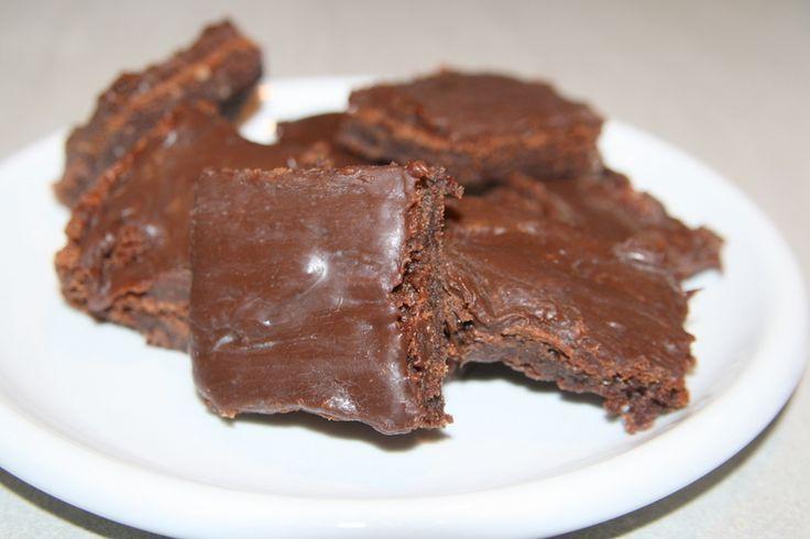 Josefins fantastiska kola- chokladkaka - Jennys Matblogg