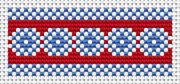National motives 8 - free cross stitch pattern