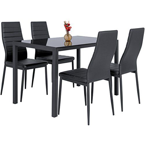 best 25 black glass dining table ideas on pinterest black glass side table glass tables and glass dining table - Dining Table Black Glass