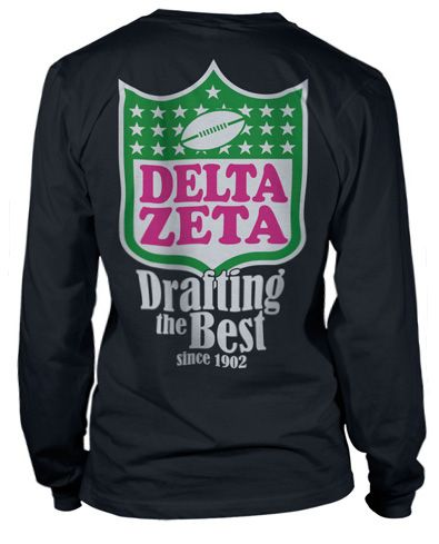 Delta Zeta Bid Day T-shirt