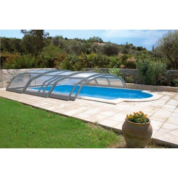 #Cubierta baja telescópica para #piscina. Solicita presupuesto y disfruta de la piscina todo el año.