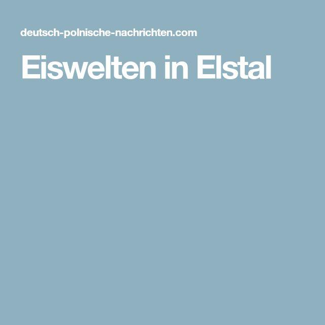 Eiswelten in Elstal