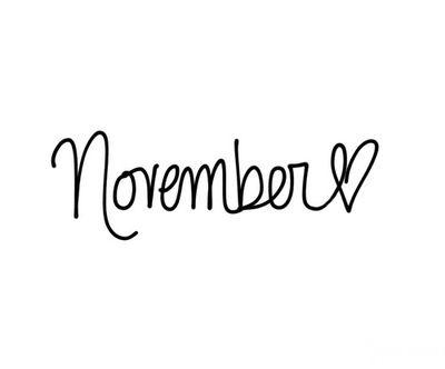 Love November 01/11/2016