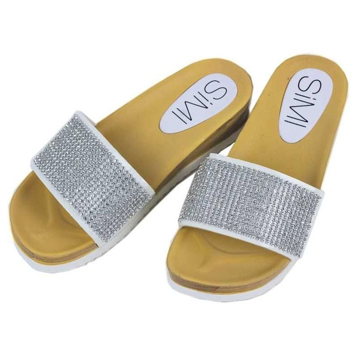 Flexible Glitter Sandals Cushion Sole Spring Summer 2017 Collection