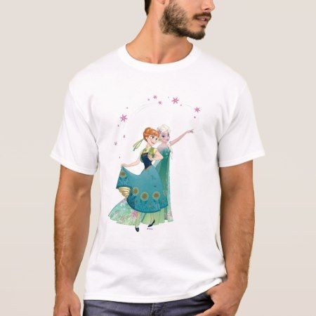 Anna and Elsa | Celebrate Sisterhood T-Shirt - click to get yours right now!