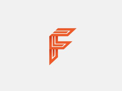 inspirational logo design series � letter f logo design