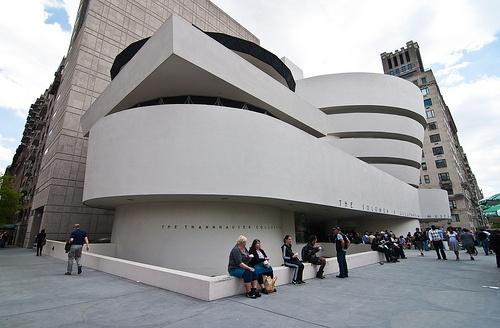 Manhattan - Guggenheim Museum - Frank Lloyd Wright